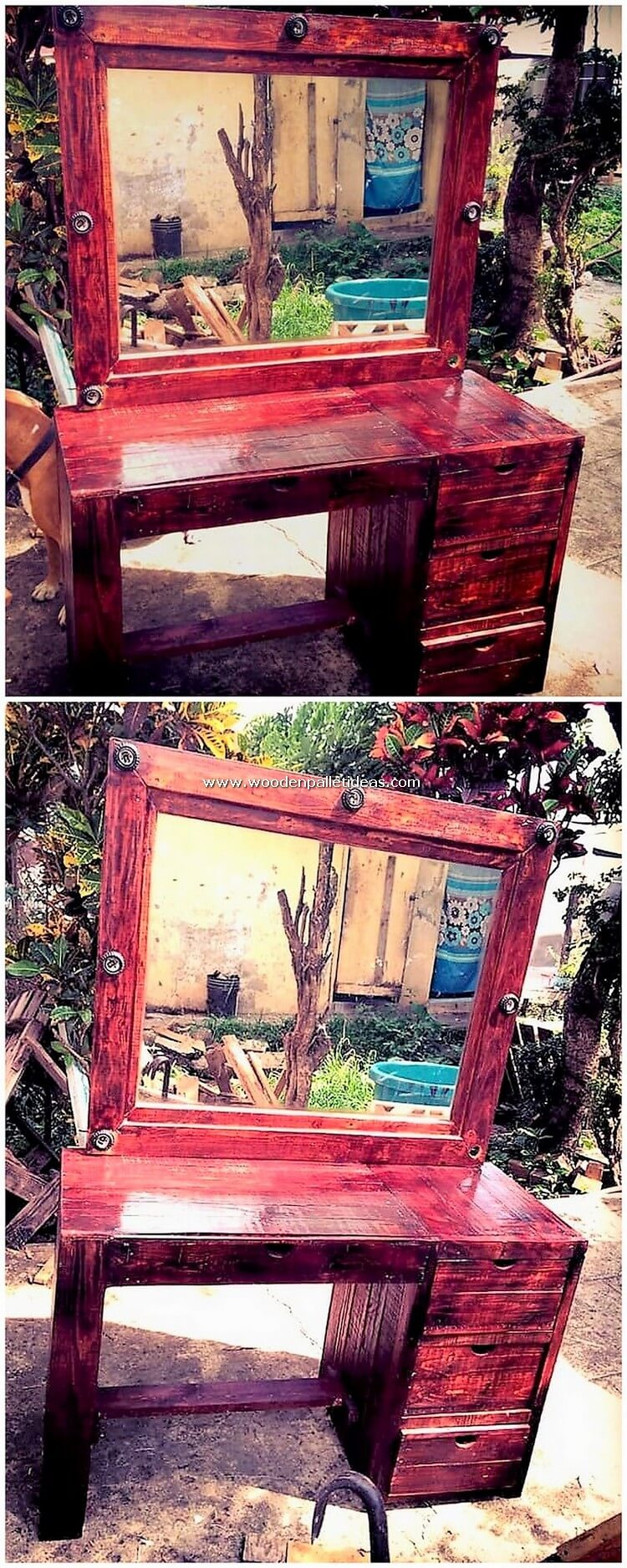 Pallet-Dressing-Table