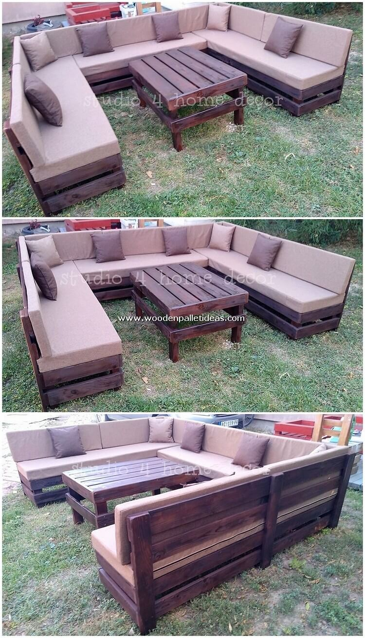 Pallet-Garden-Couch-Set-and-Table