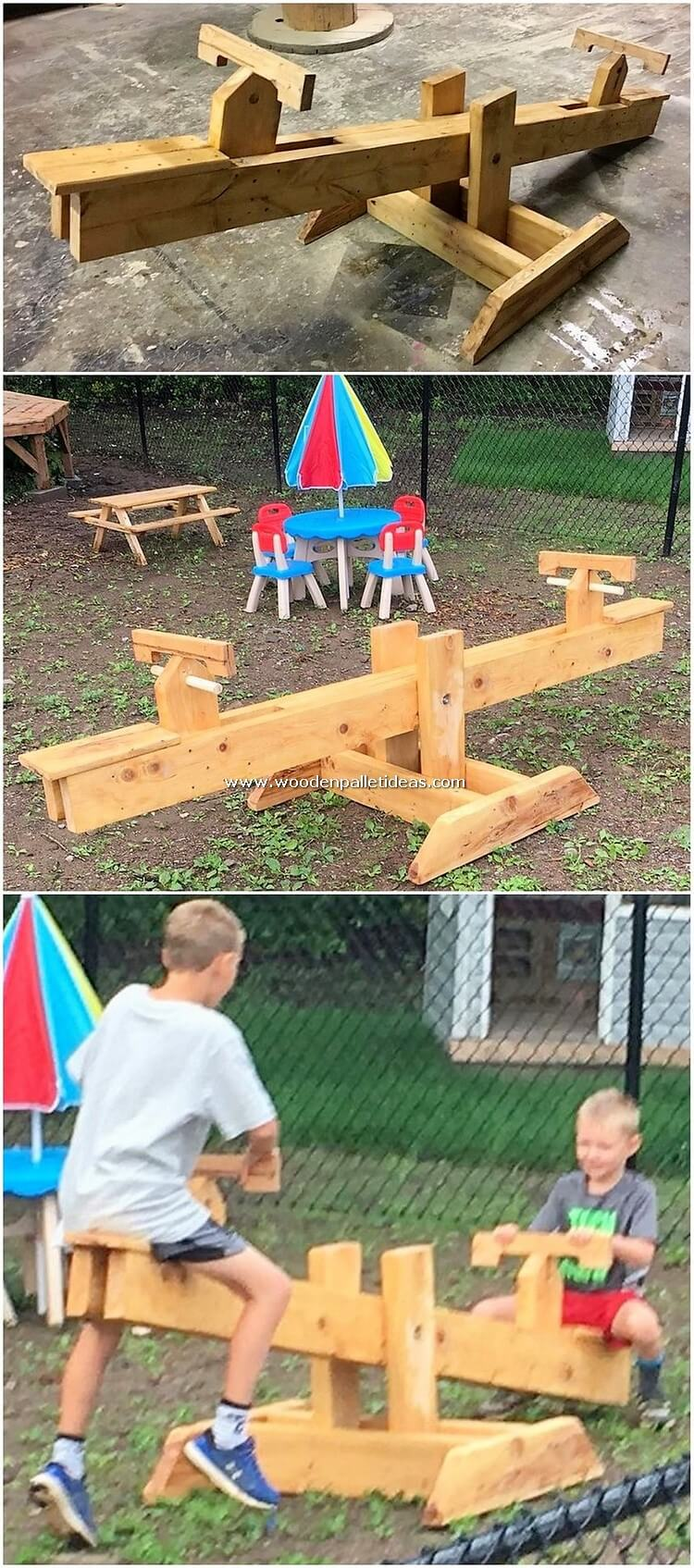 Pallet-Seesaw-Creation-for-Kids