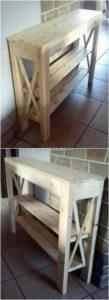 Pallet-Shelving-Table