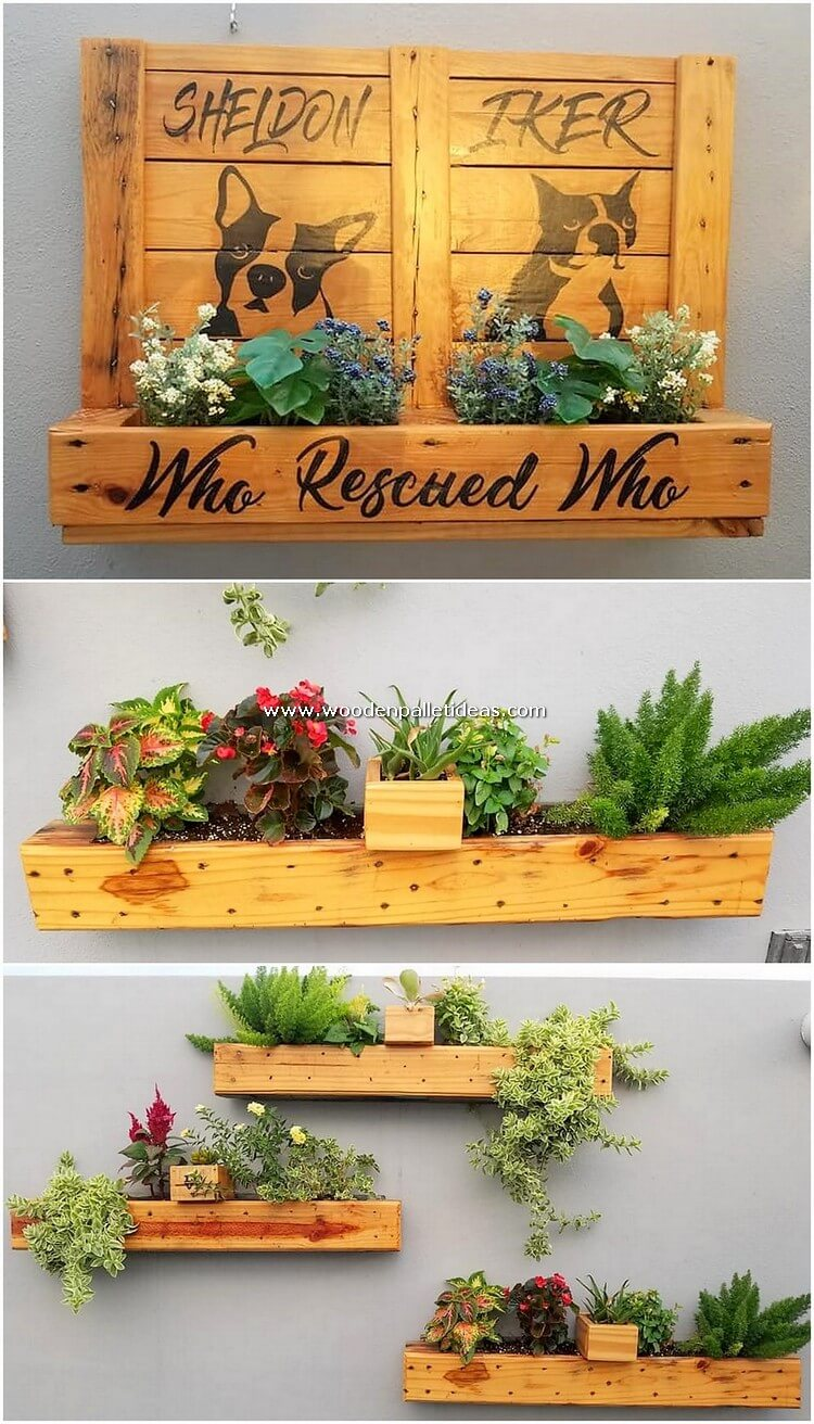 Pallet-Wall-Planters