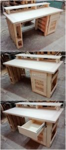 Pallet-Desk-Table-with-Drawer