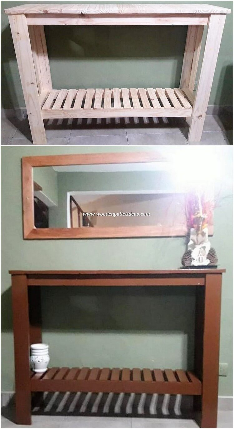 Pallet-Dressing-Table-and-Mirror-Frame