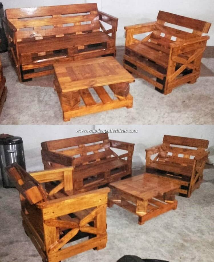 Pallet-Furniture-Set
