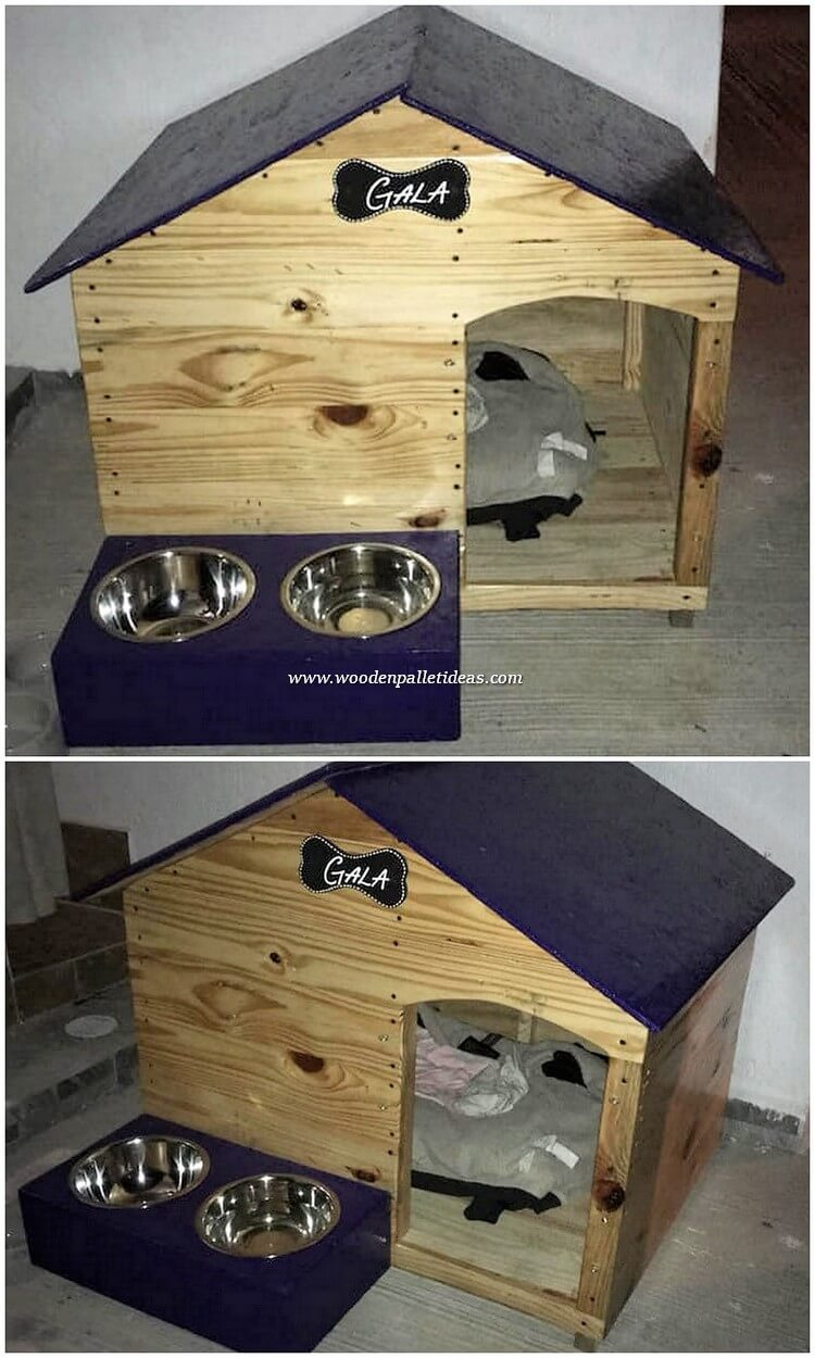 Pallet-Pet-House-with-Food-Feeder