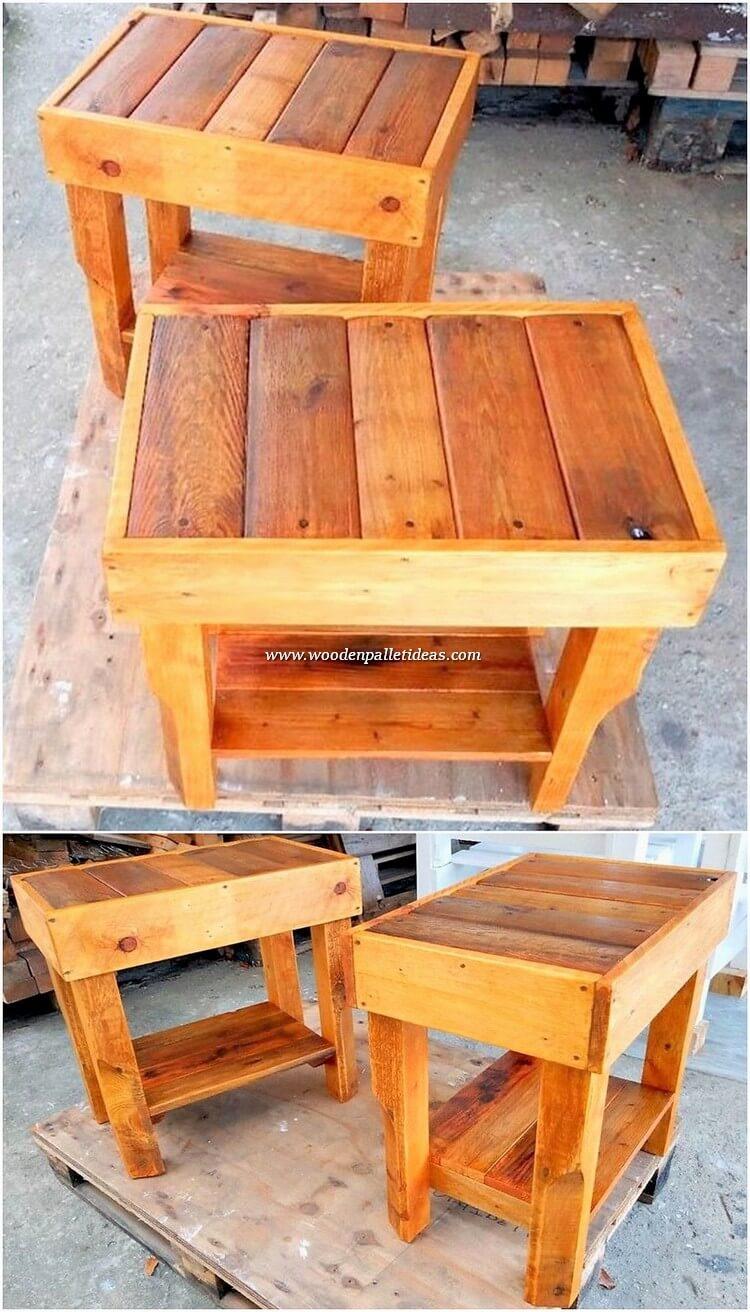 Pallet-Tables