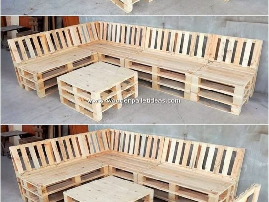 Attractive DIY Recycled Shipping Pallet Wood Projects