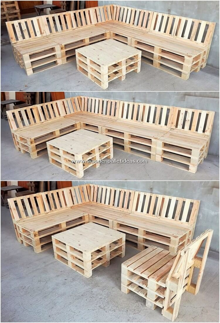 Wooden-Pallet-Couch-and-Table